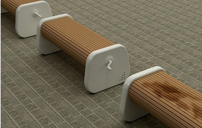 01- Benches that you can turn to always have a dry seat