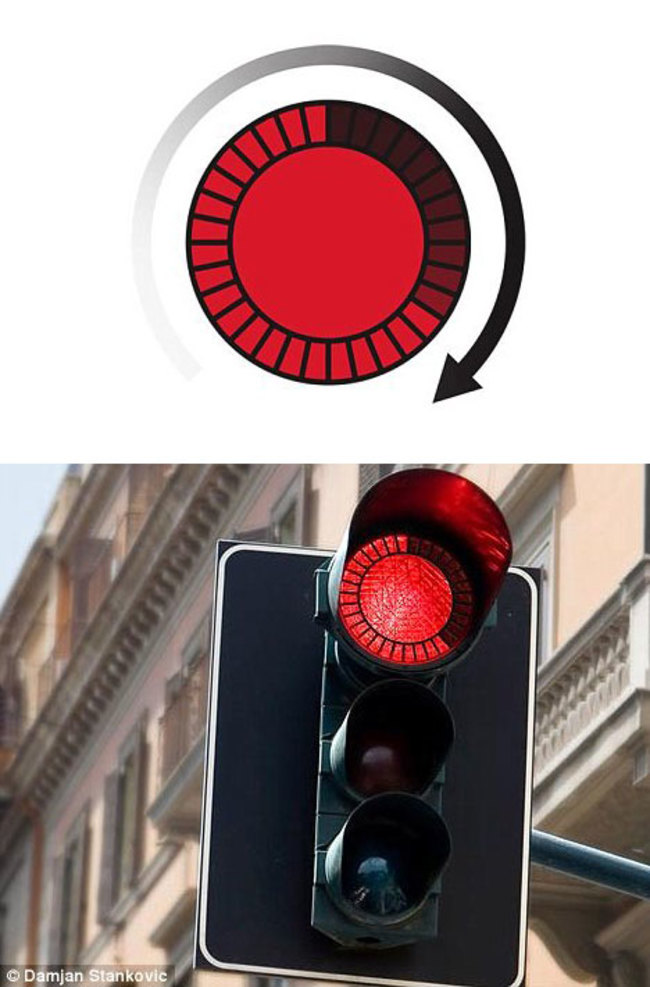 01-Traffic lights with countdown indicators
