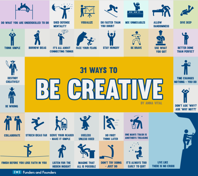 31-ways-how-to-be-creative-infographic