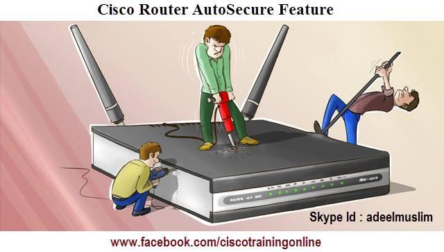 cisco auto-secure feature