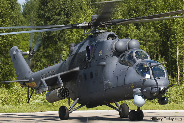 Defence - Deal signed between Pakistan and Russia  MI-35