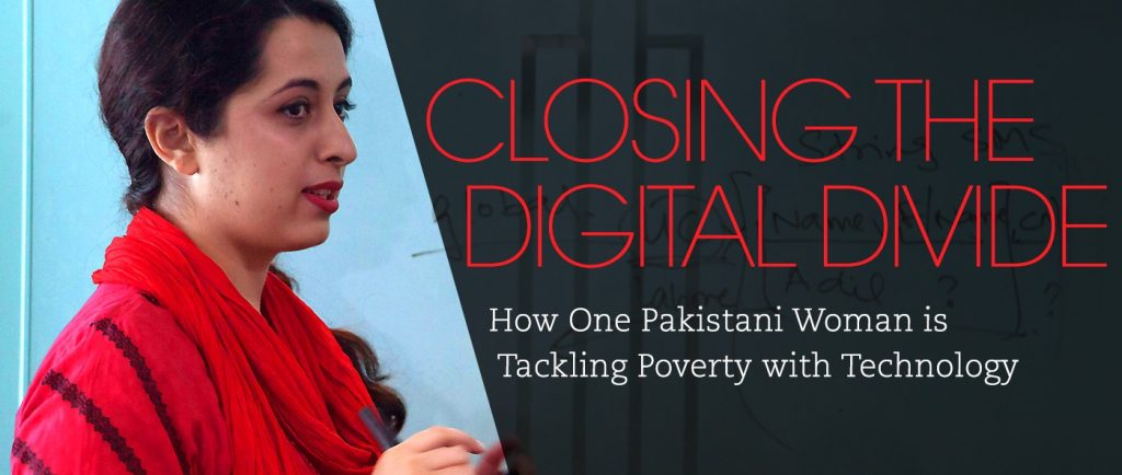 Tackling poverty with technology - Samia Razaq